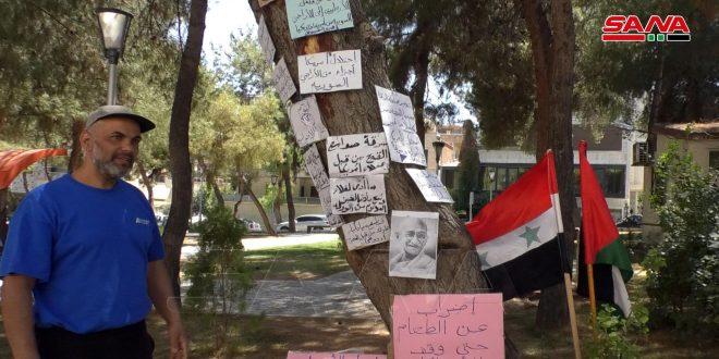 لليوم الـ 12.. الفلسطيني جبريل يواصل إضرابه عن الطعام احتجاجاً على الانتهاكات الأمريكية والتركية للأراضي السورية