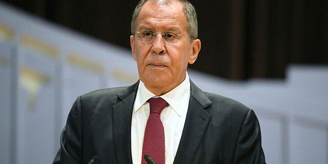 لافروف: على الغرب الاعتراف بمسؤوليته عن تردي الوضع الإنساني في سورية