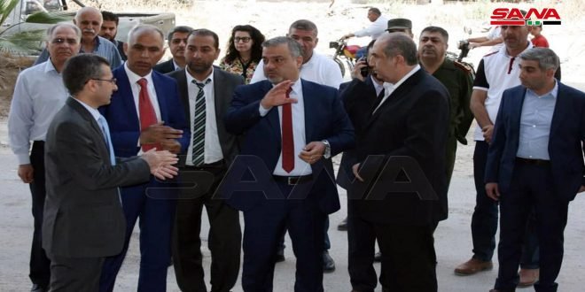 ياغي: أغلب المؤسسات الحكومية في مدينة داريا بريف دمشق جاهزة