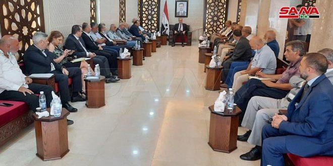 الحملة الأهلية لنصرة فلسطين تدعو لرفع الإجراءات القسرية عن سورية
