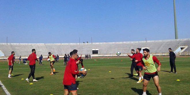 تشرين يواصل تدريباته تحضيراً للدوري الممتاز لكرة القدم لفئة الشباب