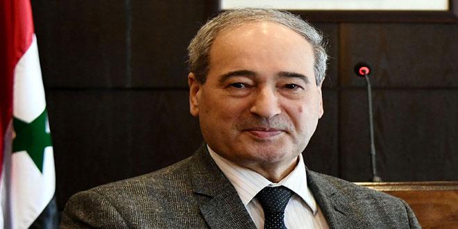 سورية تشارك في أعمال الدورة الـ 76 من الجمعية العامة للأمم المتحدة بوفد برئاسة المقداد