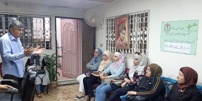 مشروع دعم اقتصاديات الأسرة العاملة في درعا يوفر دخلاً إضافياً للنساء
