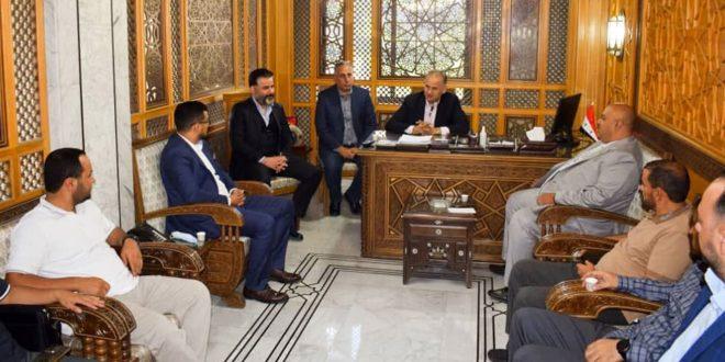 رجال أعمال يمنيون يدعون لإقامة معرض دائم للمنتجات السورية بصنعاء