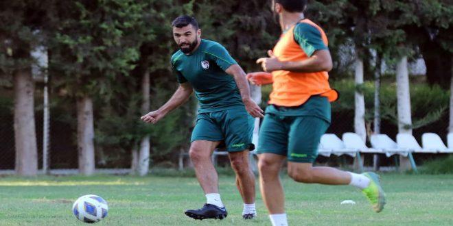 معسكر محلي لمنتخب سورية بكرة القدم استعداداً لاستكمال تصفيات مونديال 2022