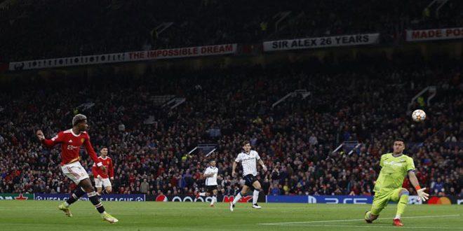 مانشستر يونايتد يفوز على أتالانتا بدوري أبطال أوروبا