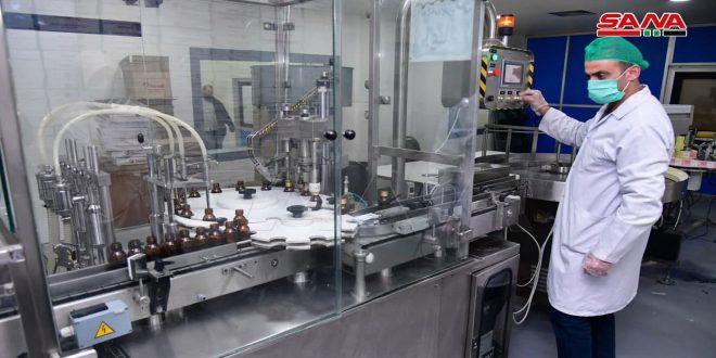 إنتاج تاميكو يتجاوز 12 مليار ليرة ولا نقص بالمضادات الحيوية