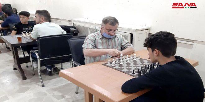 منافسات قوية في بطولة الحسكة للشطرنج السريع
