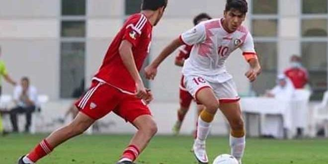 تعادل منتخب سورية للشباب بكرة القدم مع نظيره الإماراتي ودياً